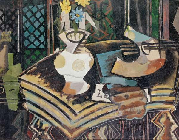 Still Life with Palette, 1939 (oil on canvas)