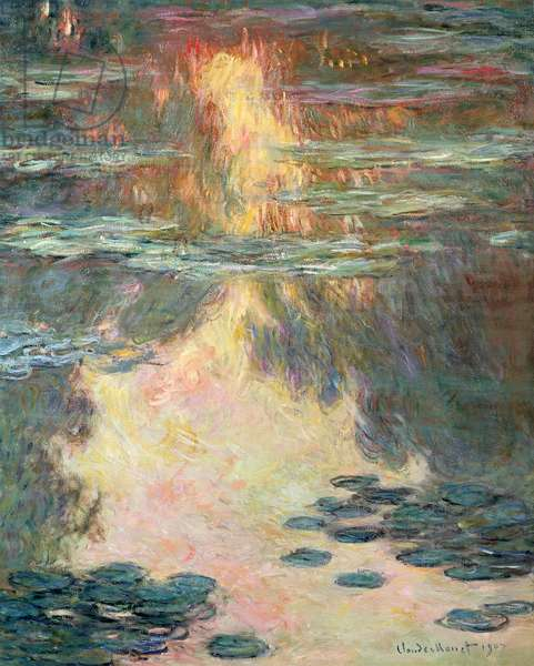 Waterlilies, 1907 (oil on canvas)