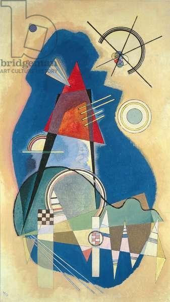 Diskretes Blau, 1926 (oil on canvas)