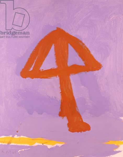 Anchor No.1, 1963 (oil on board)