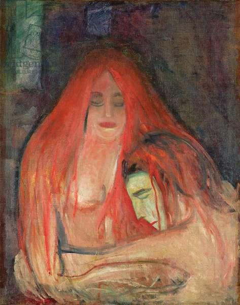 Vampire, 1896 (oil on canvas)