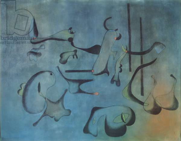 Painting, 1933 (oil and charcoal on canvas)