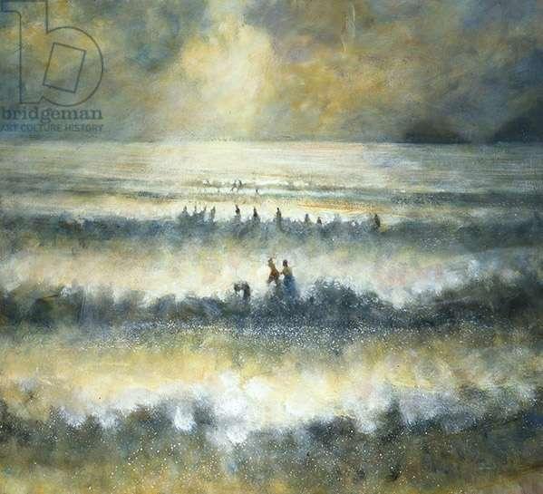 Into the Sea II, 2008 (oil on canvas)