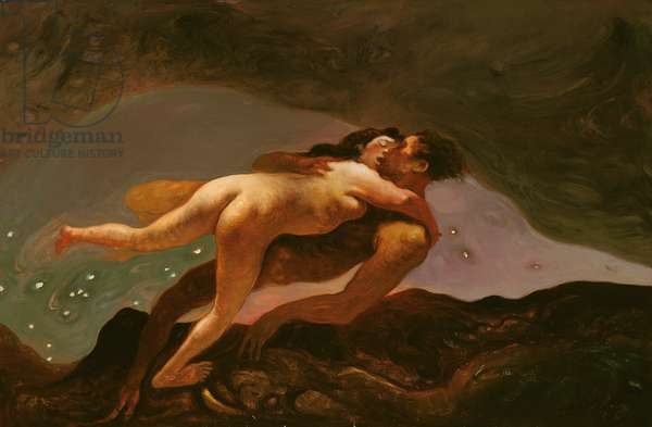 Lovers, 1993 (oil on canvas)