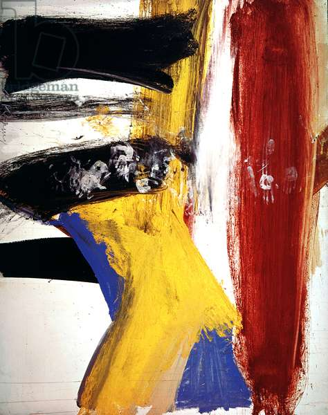 Lisbeth's Painting, 1958 (oil on canvas)