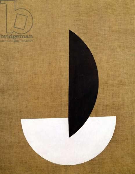 Circular Segment, 1921 (oil on canvas)