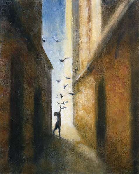 Calle I, 2008 (oil on canvas)