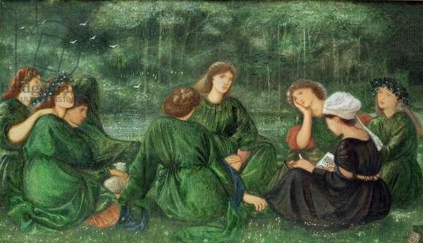 Green Summer, 1864 (gouache on paper)