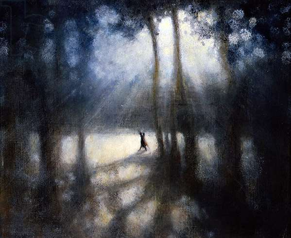 The Conversation III, 2008 (oil on canvas)