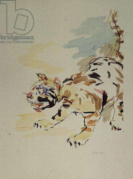 Tigerkatze, 1975, edition of 150 (litho)