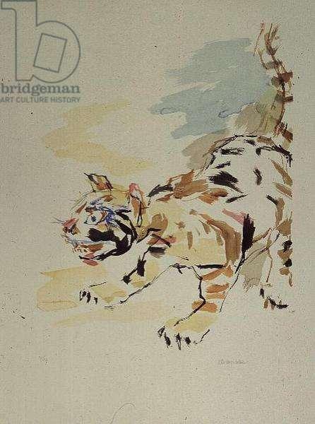 Tigerkatze, 1975, edition of 150 (litho)