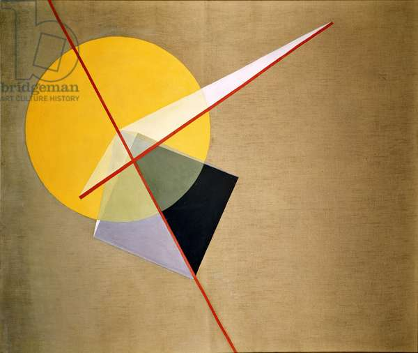 Yellow Circle, 1921 (oil on canvas)