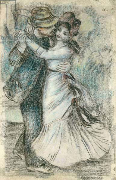 The Dance, 1883 (pastel on paper)