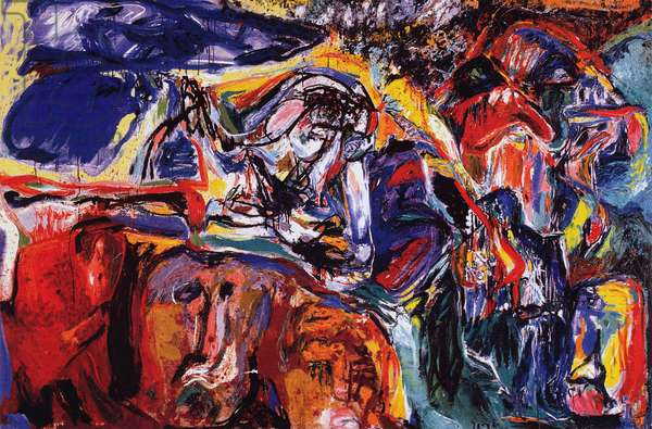 In the Beginning was the Image, c.1965-66 (oil on canvas)