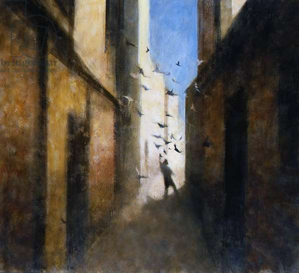 Calle III, 2008 (oil on canvas)