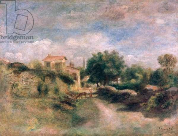 The Farm, 1892 (oil on canvas)