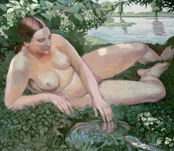 The Source, 1941 (oil on board)