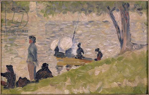 Study for A Sunday Afternoon on the Island of La Grande Jatte (oil)