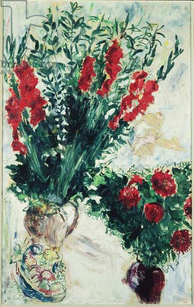 Red flowers, 1926
