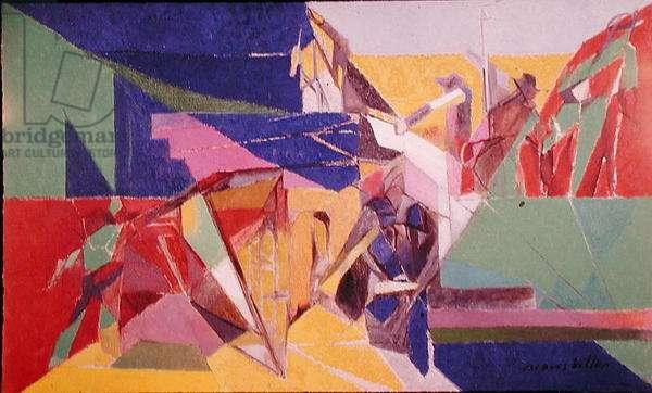 Les Gars de Batterie, 1947 (oil on canvas)