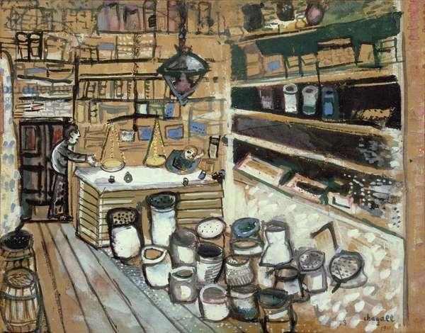 The Grocery Store in Vitebsk, 1911