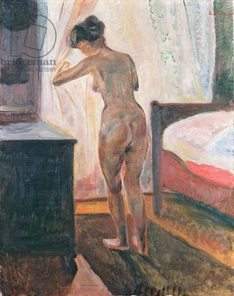 Standing Nude at the Window, 1906 (oil on canvas)