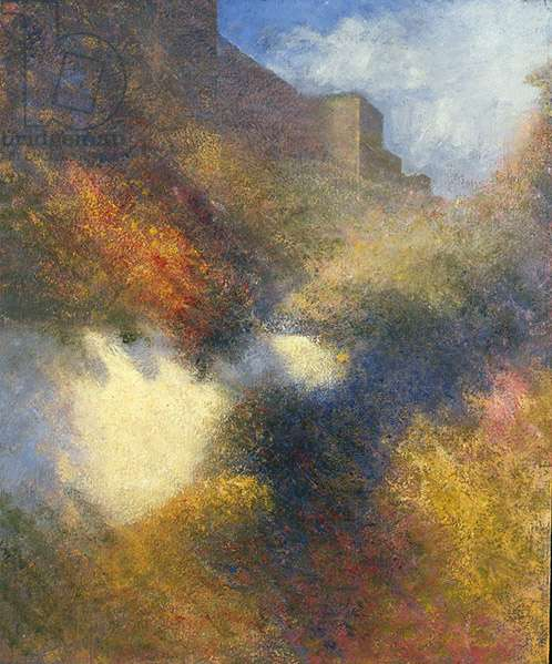 Garden I, 1979 (oil on canvas)