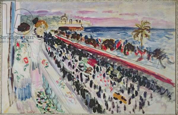 Flower Festival, 1921 (oil on canvas)
