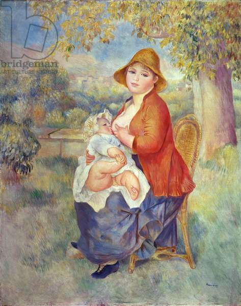 Maternity, 1885 (oil on canvas)