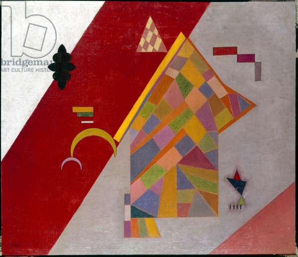 Red Across, 1931 (oil and tempera on cardboard)