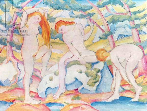 Bathing Girls, 1910 (oil on canvas)