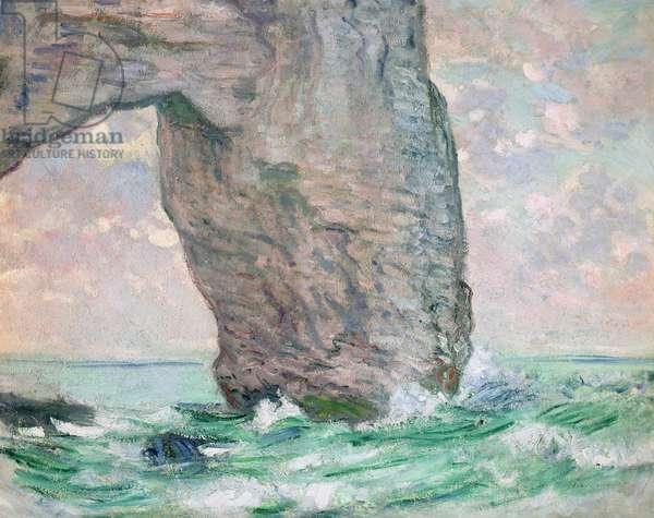 La Manneporte a Etretat, c.1883-85 (oil on canvas)