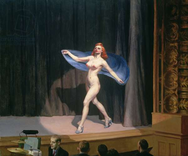 The Girlie Show, 1941 (oil on canvas)