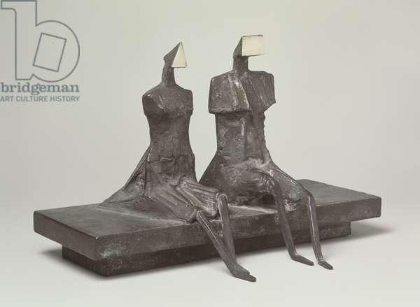 Back to Venice Version III, 1988 (bronze)