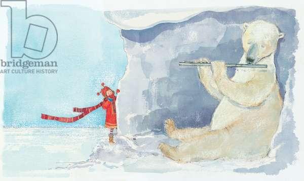 Flute Bear