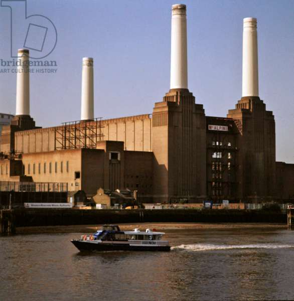 View of Battersea Power Station (photo)