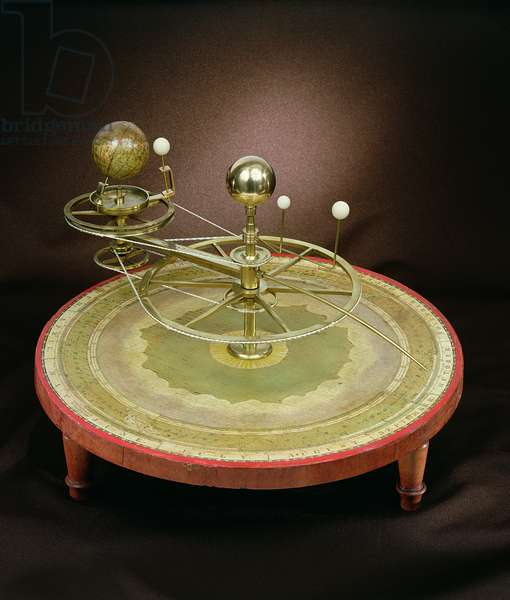Orrery, made by Newton & Co., London, early 19th century (brass)