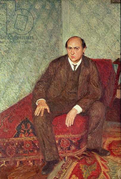 Portrait of Arnold Schonberg (1874-1951), c.1905-6