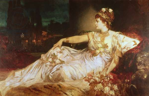 Charlotte Wolter as the Empress Messalina