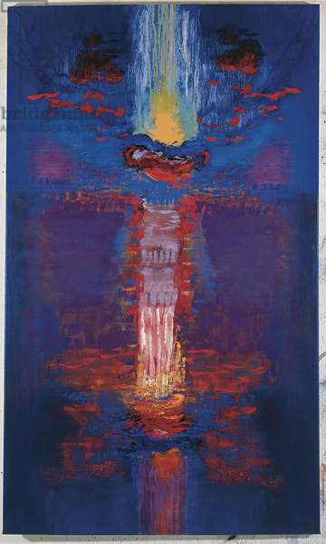 Drowning Sunset, 1998 (oil on canvas)