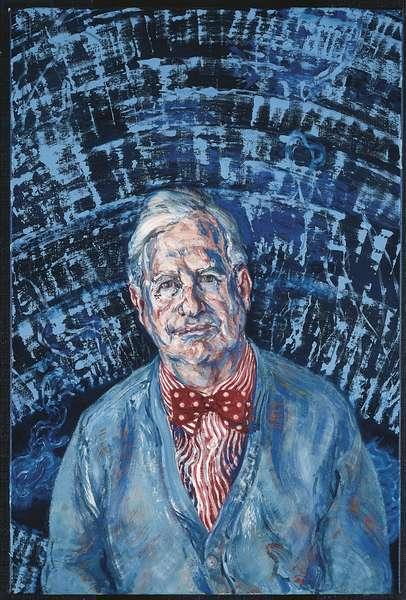 Sir Stephen Tumim, 1992 (oil on canvas)