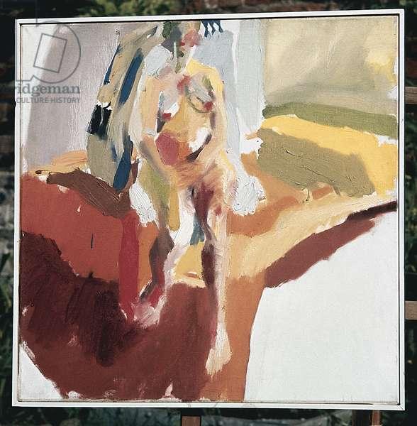 Nude, 1963 (oil on canvas)