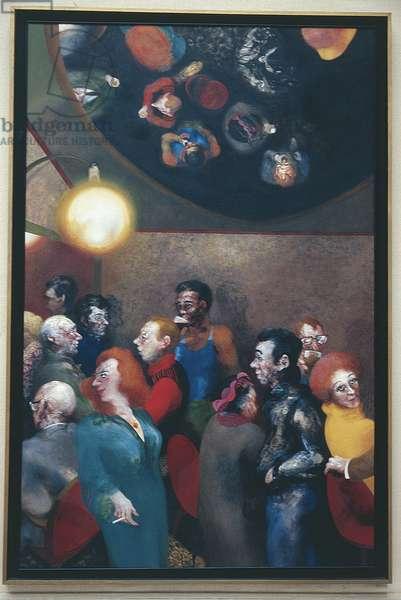 The Mirror Bar, 1979 (oil on canvas)