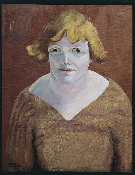 Mary Butts, 1924 (oil on board)