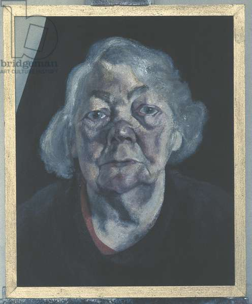 Frances Rose III, 1973-74 (oil on canvas)