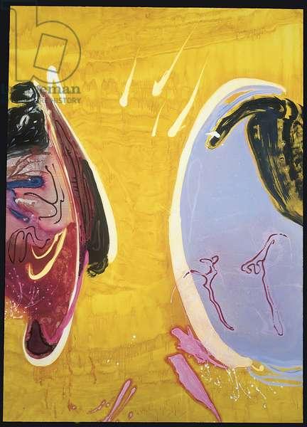 Secret Laugh, 1991 (oil on canvas)