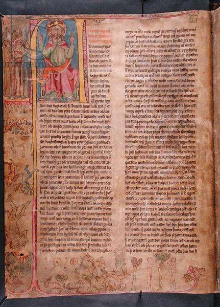 God the Father, from 'Stjorn' ('Governance') (vellum)