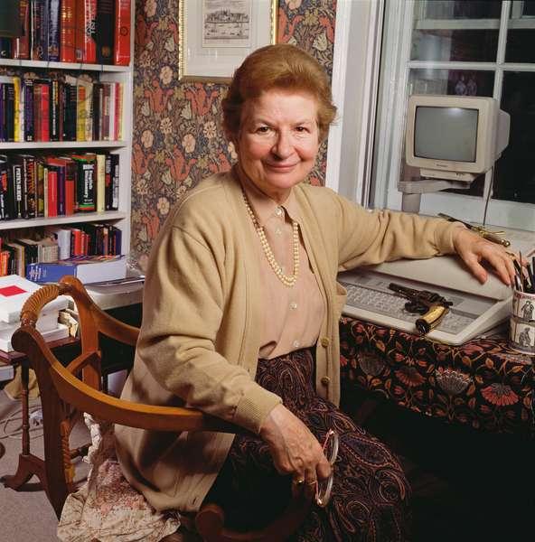 P.D. James, 1993 (photo)