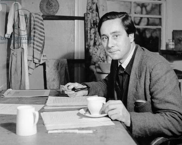 Alan Sillitoe, 1958 (photo)