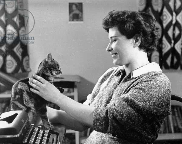 Doris Lessing, 1956 (photo)